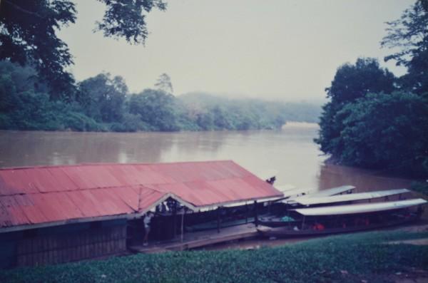 Kuala Tembeling jetty