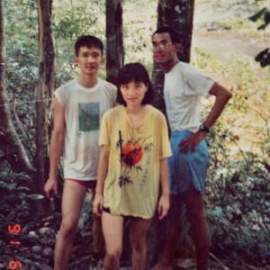 with Remy & Robert at Kuala Putih