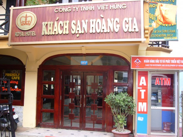 the hotel we stayed in Sapa