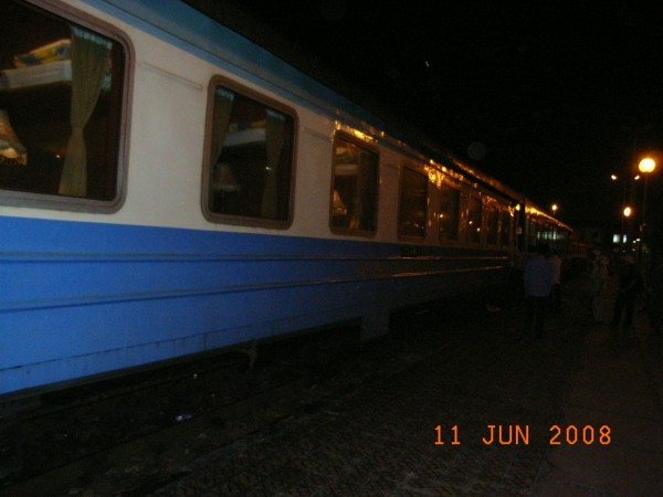 our train...