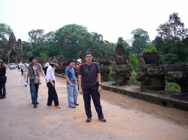 Bayon Gate - this is the bridge I was talking about, or is it a short causeway?