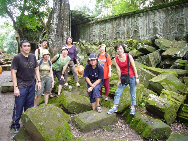 around Ta Prohm