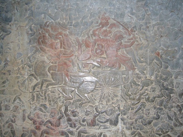 Angkor Wat - one of the interior walls.