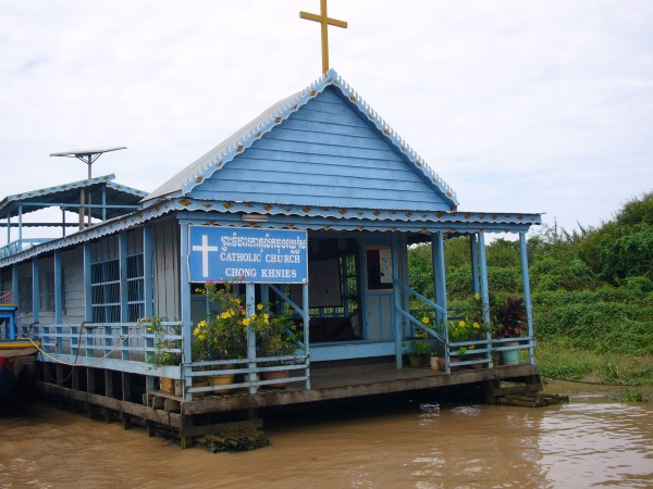 the floating Catholic Church.