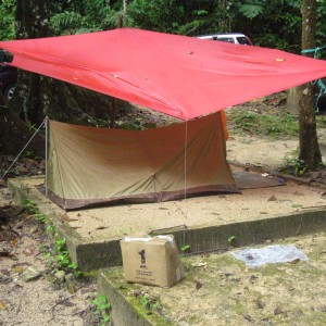 the 2 men tent we got it a few years ago but 1st time using.