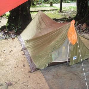 our 2 men tent.