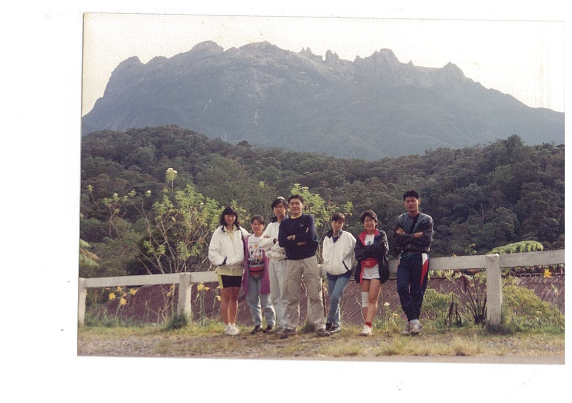 year 1992 with Lee on my right